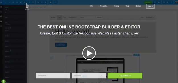 30 best bootstrap editors you shouldn39t miss bestdevlist for Brixio