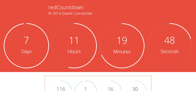 25 jQuery Countdown Timer Plugins for Your Next Projects