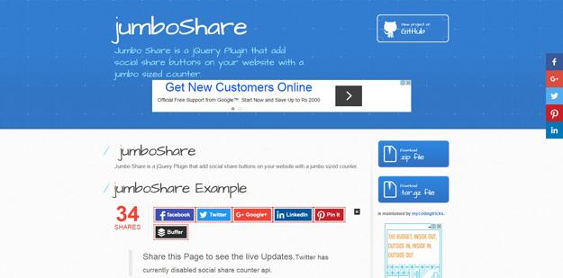 15 Best jQuery Social Share Plugins - BestDevList
