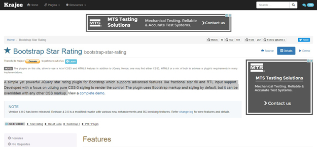 15 Best jQuery Rating Plugins - BestDevList