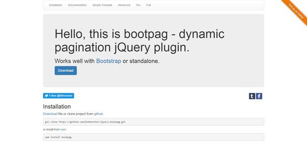 jQuery Pagination Plugins for Developers - BestDevList