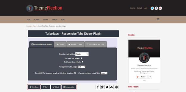 jQuery Tabs Plugins for Creating Beautiful Tabs - BestDevList