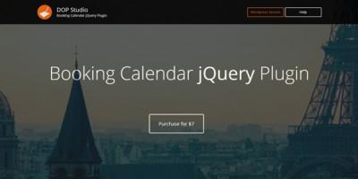 booking calendar jquery pro