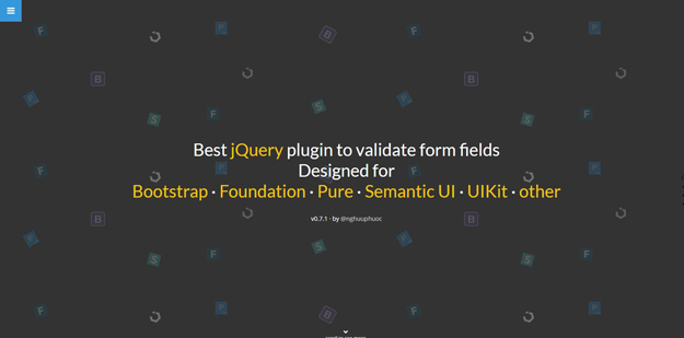 Best Jquery Form Validation Plugins Bestdevlist