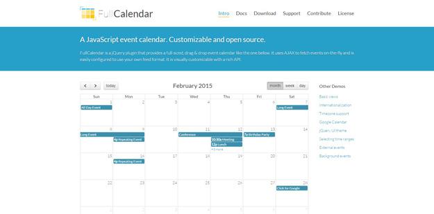 20 Best jQuery Calendar Plugins for Your Websites - BestDevList
