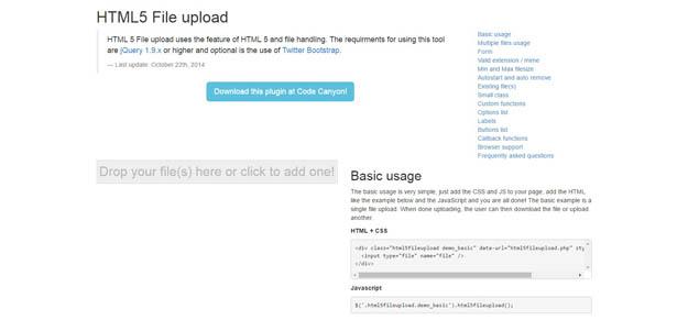 15 jQuery File Upload Plugins - BestDevList