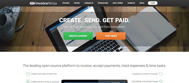 Invoicing Freeware Pdf Best Invoice Generating Tools   Bestdevlist Receipt Scaner Pdf with Moving Company Invoice Template Free Word Invoiceninja Is Your All In One Solution That Helps You To Grow Your  Business By Providing Hassle Free Invoice Tool And Time Tracking App Format For Receipt Excel